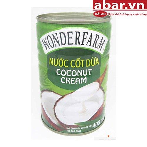 Nước cốt dừa Wonderfarm