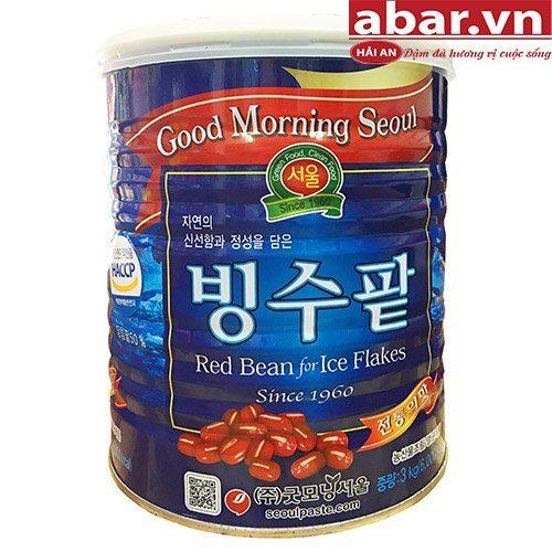 Đậu Đỏ Hàn Quốc Đóng Hộp