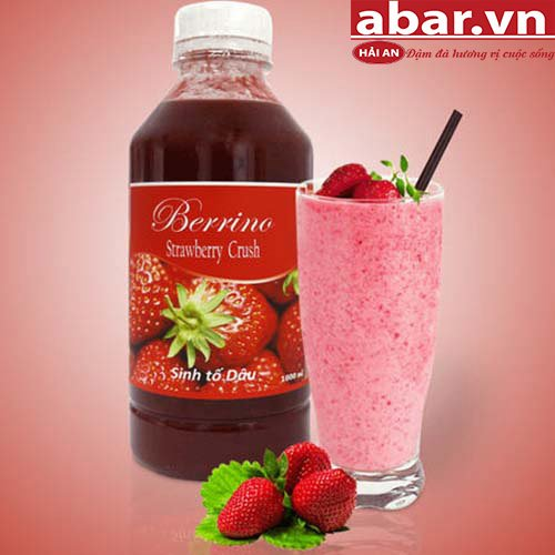 Sinh Tố Berrino Dâu (Berrino Strawberry Crush)