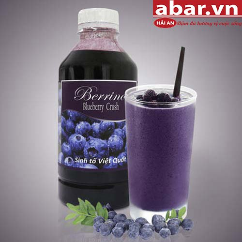 Sinh Tố Berrino Việt Quất (Berrino Blueberry Crush)
