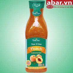 Sinh Tố Golden Farm Đào (Peach Crush) - Chai 1L