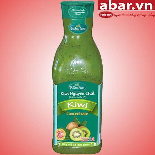 Sinh tố golden farm kiwi
