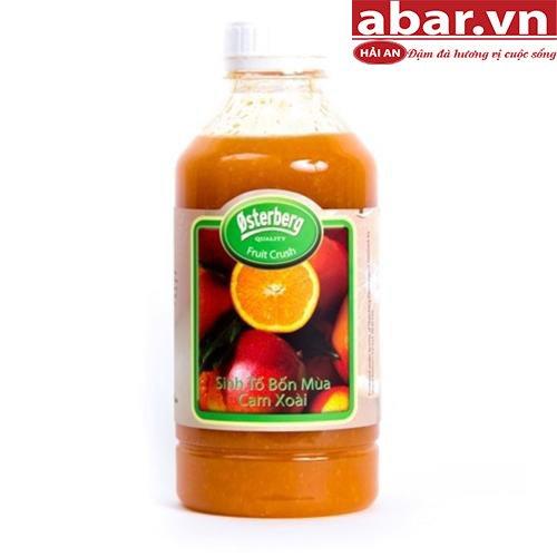 Sinh Tố Osterberg Cam & Xoài (Osterberg Orange & Mango)