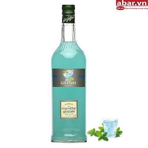Siro Giffard Bạc Hà Trắng (Giffard Ice Mint Syrup) - Chai 1L