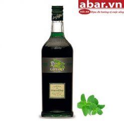 Siro Giffard Bạc Hà Xanh (Giffard Menthe Syrup) - Chai 1L