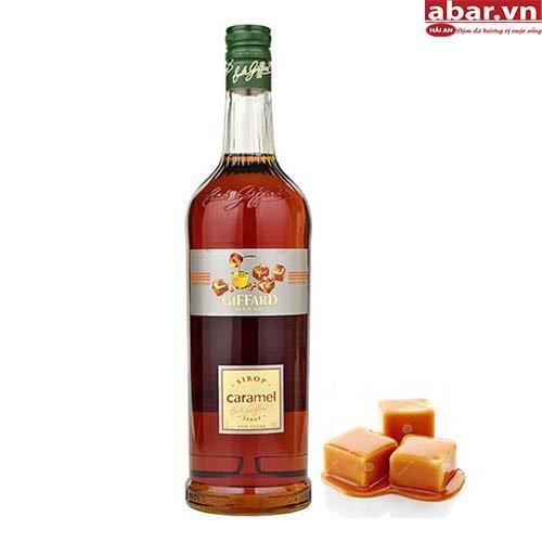 Siro Giffard Caramen (Giffard Caramel Syrup) - Chai 1L
