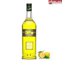 Siro Giffard Chanh Vàng (Giffard Citron Syrup) - Chai 1L