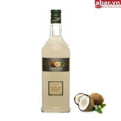 Siro Giffard Dừa (Giffard Coconut Syrup) - Chai 1L
