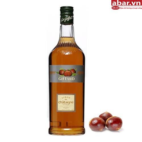 Siro Giffard Hạt Dẻ (Giffard Chestnut Syrup) - Chai 1L
