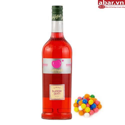 Siro Giffard Kẹo Cao Su (Giffard Bubble Chum Syrup) - Chai 1L