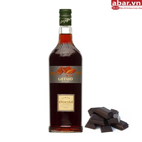 Siro Giffard Socola Đen (Giffard Black Chocolate Syrup) - Chai 1L