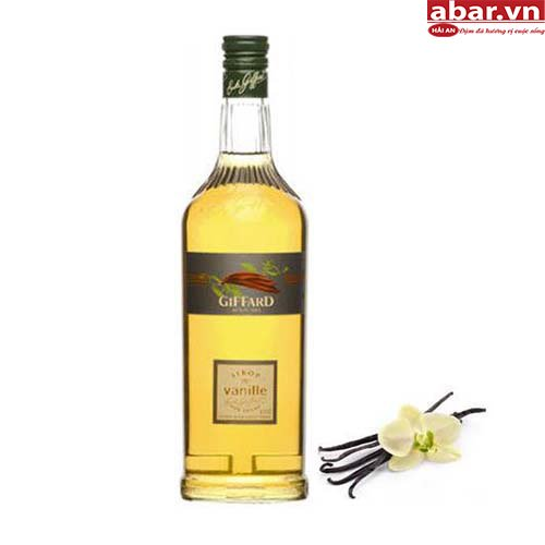 Siro Giffard Vani (Giffard Vanilla Syrup) - Chai1L
