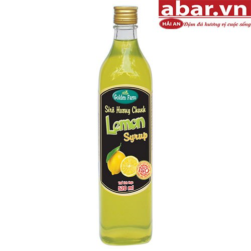 Siro Golden Farm Chanh (Golden Farm Lemon Syrup) - Chai 520ml
