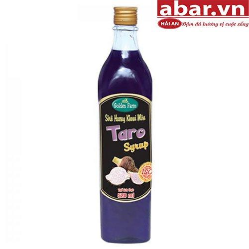 Siro Golden Farm Khoai Môn (Golden Farm Taro Syrup) - Chai 520ml