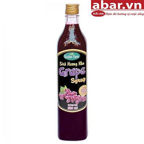 Siro Golden Farm Nho (Golden Farm Grape Syrup) - Chai 520ml