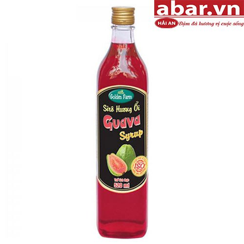 Siro Golden Farm Ổi (Golden Farm Guava Syrup) - Chai 520ml