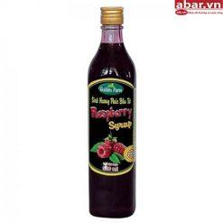 Siro Golden Farm Phúc Bồn Tử (Raspberry Syrup) - Chai 520ml