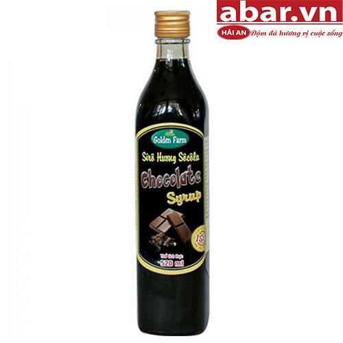 Siro Golden Farm Socola (Chocolate Syrup) - Chai 520ml