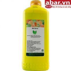 Siro Maulin Bạc Hà (MauLin Mint Syrup) - Chai 2,5kg