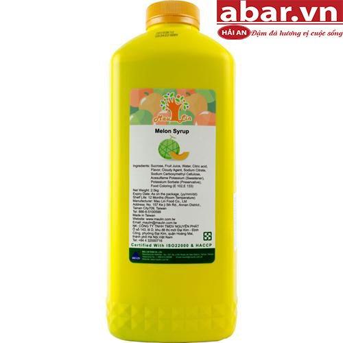 Siro Maulin Dưa Lưới (Mau Lin Melon Syrup) - Chai 2,5kg