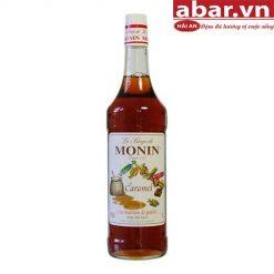 Siro Monin Caramen (Caramel Syrup) - Chai 1L
