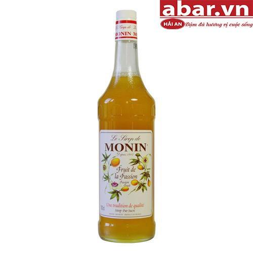 Siro Monin Chanh Dây (Passion Fruit Syrup) - Chai 1L