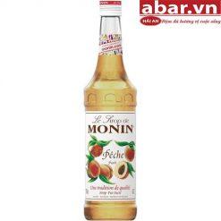 Siro Monin Đào (Monin Peach Syrup) - Chai 700ml