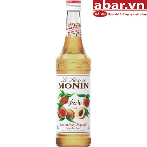 Siro Monin Đào (Monin Peach Syrup) - Chai 700ml
