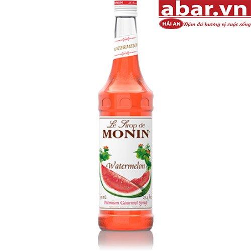 Siro Monin Dưa Hấu (Monin Watermelon Syrup) - Chai 1L