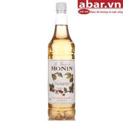 Siro Monin Hạt Dẻ (Hazelnut Syrup) - Chai 1L
