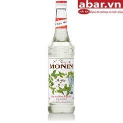 Siro Monin Chanh Bạc Hà (Mojito Mint) - Chai 1L