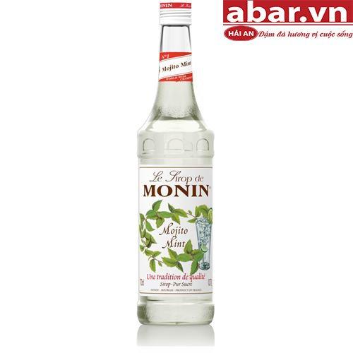 Siro Monin Chanh Bạc Hà (Mojito Mint) - Chai 700ml