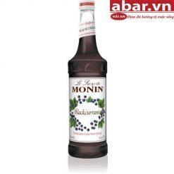 Siro Monin Nho Rừng (Blackcurrant Syrup) - Chai 700ml
