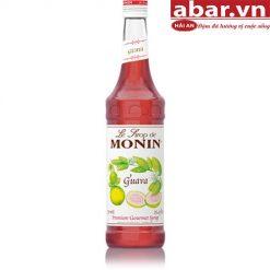 Siro Monin Ổi Đào (Monin Guava Syrup) - Chai 700ml