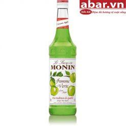 Siro Monin Táo Xanh (Green Apple Syrup) - Chai 700ml