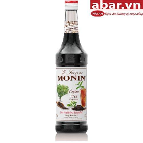 Siro Monin Trà Ceylon (Ceylon Tea Syrup) - Chai 700ml