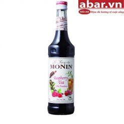 Siro Monin Trà Phúc Bồn Tử (Raspberry Tea) - Chai 700ml