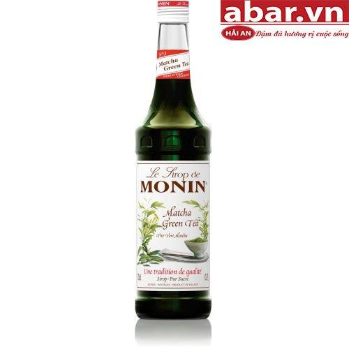 Siro Monin Trà Xanh (Matcha Green Tea) - Chai 700ml