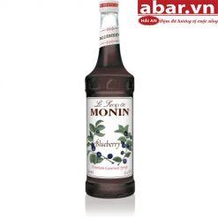 Siro Monin Việt Quất (Blueberry Syrup) - Chai 700ml