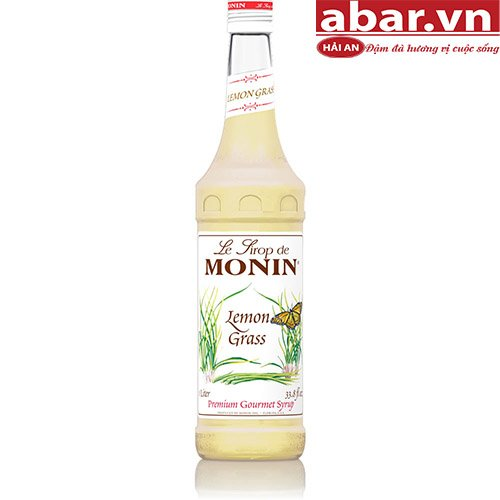 Siro Monin Xả (Asian Lemongrass)- Chai 700ml