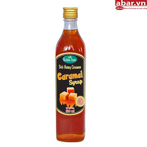 Siro Golden Farm Caramen (Caramel Syrup) - Chai 520ml