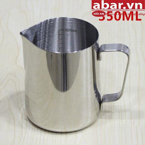 Ca Đánh Sữa Inox 350 ml