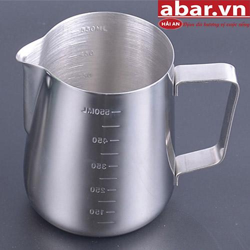Ca Đánh Sữa Inox 600 ml