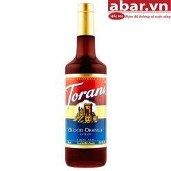 Siro Torani Cam Đỏ
