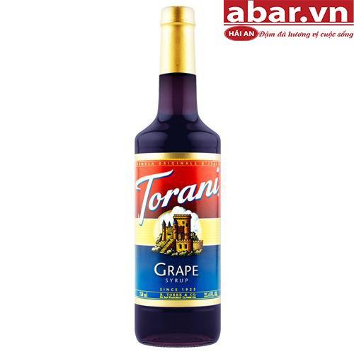 Siro Torani Nho Đỏ