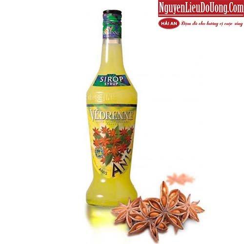 Siro Vedrenne Hoa Hồi (Vedrenne Anise Syrup) - Chai 700ml