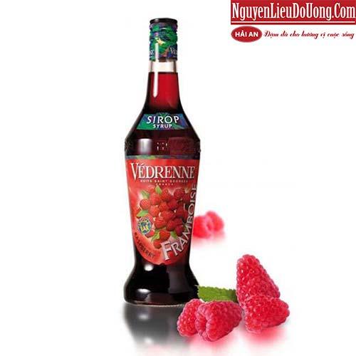 Siro Vedrenne Mâm Xôi (Vedrenne Raspberry Syrup) - Chai 700ml