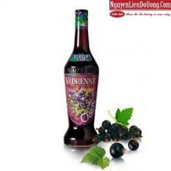 Siro Vedrenne Việt Quất (Vedrenne Blueberry Syrup) - Chai 700ml