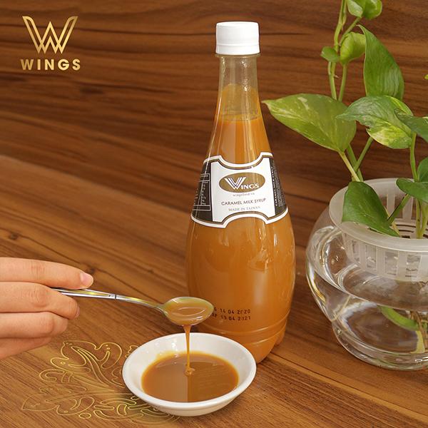 Siro Caramel Sữa Wings