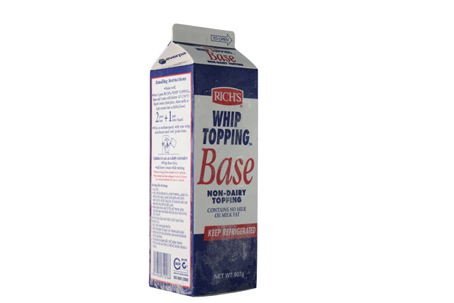Rich Whip Topping Base 3 1